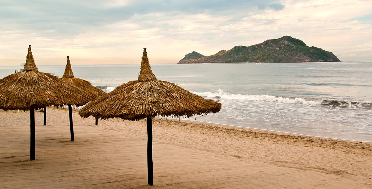 Beach life in Mazatlan