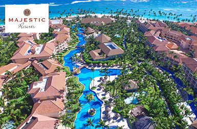 Majestic Resorts in Punta Cana